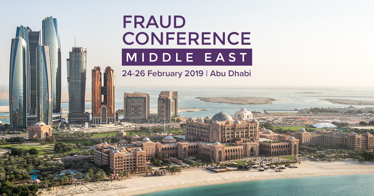 2019 ACFE FRAUD CONFERENCE MIDDLE EAST